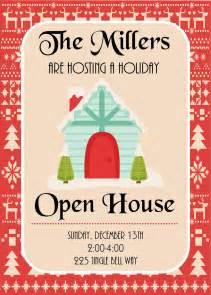 Open House Invitation Printable