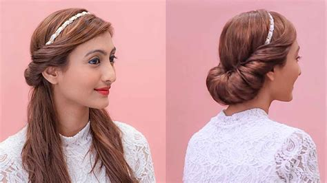 hairstyles with a hair band hairstyles using a hairband grecian updos