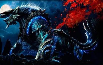 Wallpapers Monster Cool Backgrounds Desktop Code Zinogre