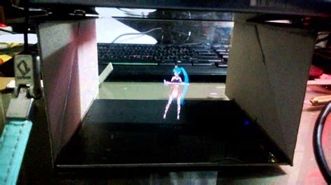 diy miku hologram illusion  ps vita youtube