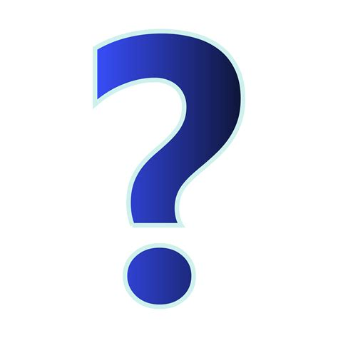 Question Clip Question Clipart Graphic Pencil And In Color