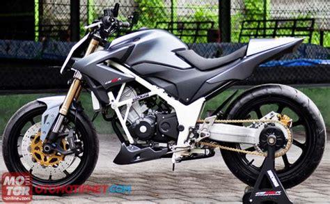 Modifikasi Honda Cb150 by 2016 Honda Cb150r Streetfire Launched In Indonesia