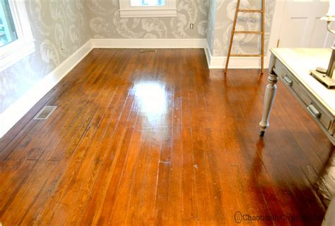 Shine Dull Floors  Minutes Chaotically Creative