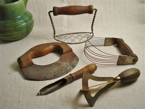 antique kitchen tools collection of vintage kitchen tools from alegriacollection on