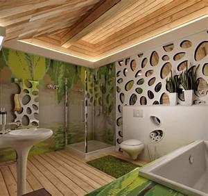 Salle De Bain Idée Déco : id e salle de bains 18 tendances pour l 39 ann e 2015 ~ Dailycaller-alerts.com Idées de Décoration