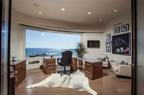 marvelous home office designs  ocean view