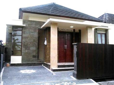 model rumah sederhana tapi kelihatan mewah  desain