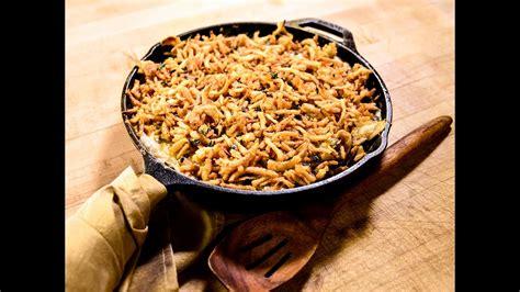 green bean casserole recipe traeger grills youtube