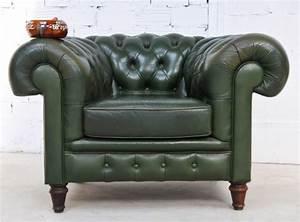 Salon En Anglais : meuble vintage fauteuil de salon anglais chestelfield des ann es 1920 ~ Preciouscoupons.com Idées de Décoration