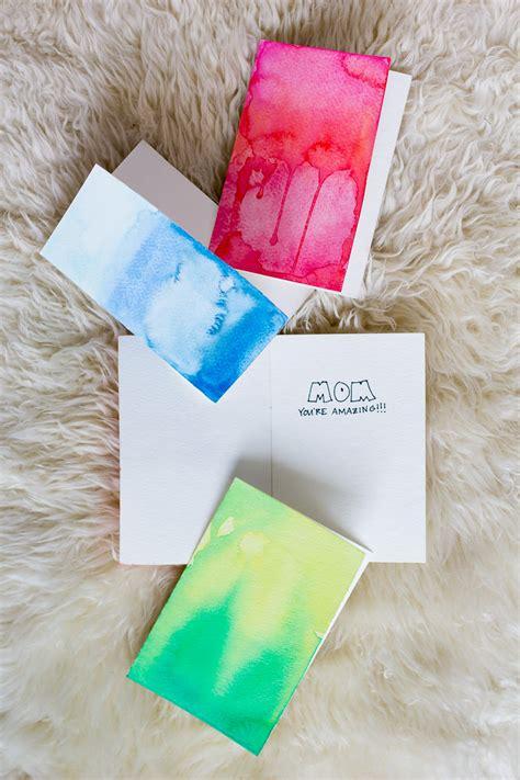 Diy Watercolor Greeting Cards — Wandeleur
