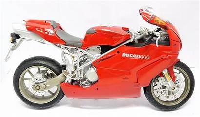 Moto Miniatura Ducati Vermelha