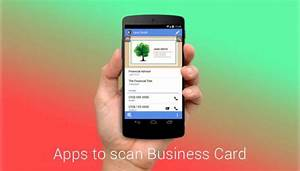 Best business card scanner app for android getandroidstuff for Business card app for android