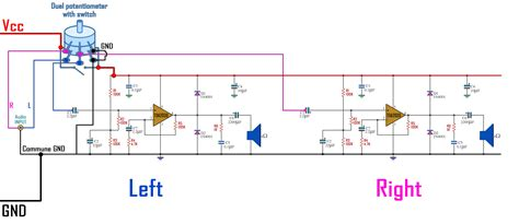 Portable Speaker Wiring Diagram by Bluetooth Speaker Wiring Diagram Wiring Library