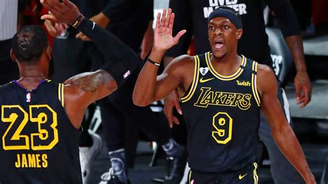 NBA Finals: Rajon Rondo on verge of titles with Lakers and ...