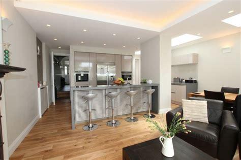 cuisine ouverte salon petit espace aménager une cuisine 40 idées pour le design