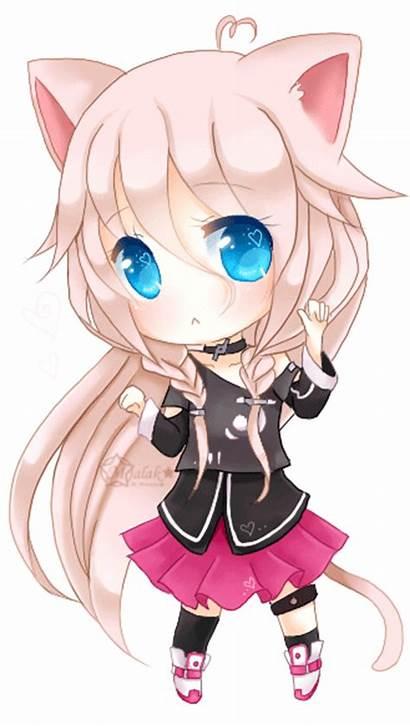 Chibi Anime Ia Thread Neko Characters Heart