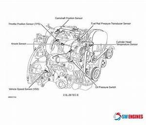 2000 Ford Focus Engine Diagram  Swengines
