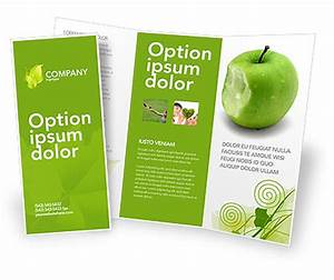 apple bite brochure template design and layout download With apple brochure templates