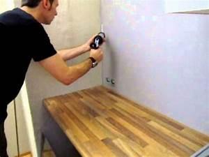 Plexiglas Küchenrückwand Ikea : montage k chenr ckwand youtube ~ Frokenaadalensverden.com Haus und Dekorationen