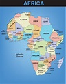 Printable Map Of Africa With Countries And Capitals ...