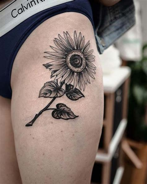 pretty sunflower tattoo ideas  copy  page    stayglam