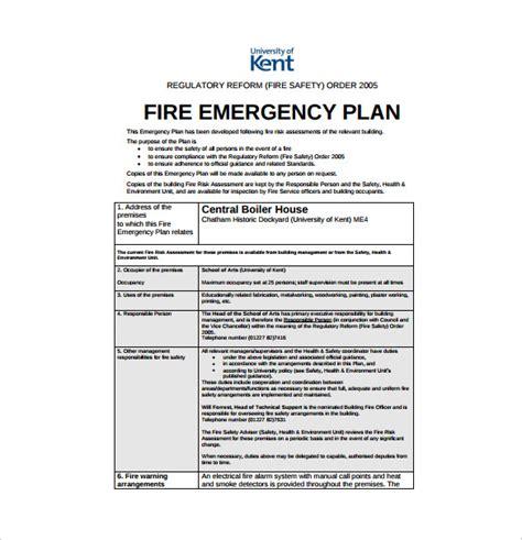 emergency plan template 14 emergency plan templates free sle exle format free premium templates