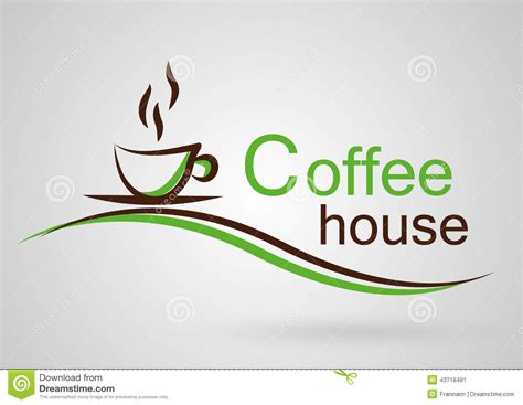 Coffee House Logo Stock Vector. Image Of Cafeteria Robusta Coffee Stomach Tassimo Pods Ocado Mixed Reddit Green Extract For At Sainsburys Weight Loss Online Order Diabetes