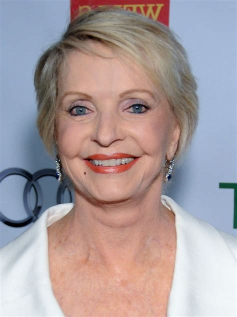florence henderson side parted short haircut  bangs