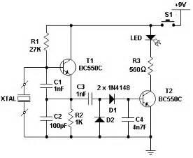 How Build Xtal Tester Circuit Diagram