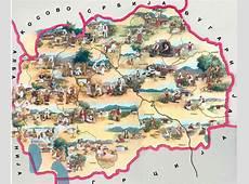 Maps of Macedonia Collection of maps of Macedonia
