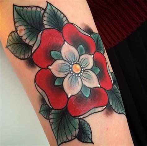 english emblems  heraldic tudor rose tattoo tattoodo