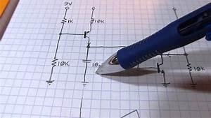 105  More Circuit Fun  Simple 3 Transistor Sawtooth Generator    Oscillator