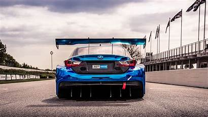 4k Racing Lexus Rc Gt3 Racetrack Wallpapers
