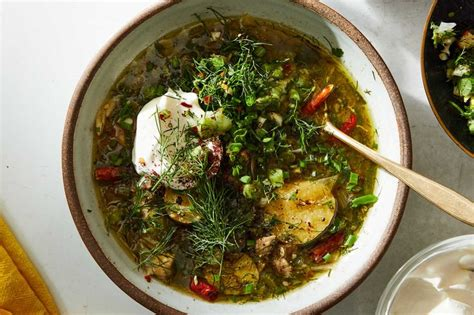 lemony chicken soup  fennel  dill recipe nyt