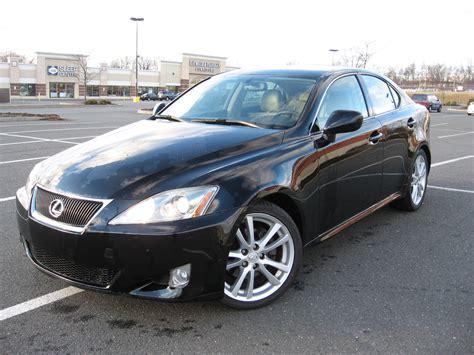 2006 Lexus Is 250 56k Miles Black/tan