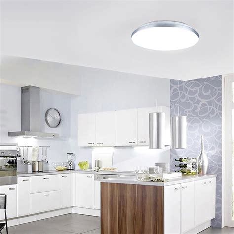 led kitchen ceiling light fixture 24w led ceiling light flush mount home kitchen 8940
