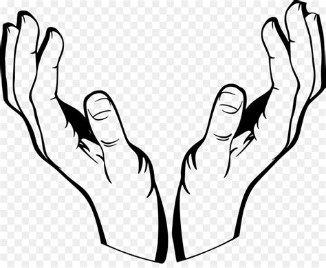 hand drawing clip art hand png