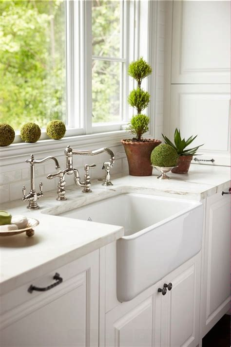 kitchen with farmhouse sink white kitchen sink ideas home design ideas pertaining to 6509