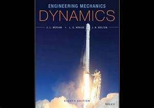 Engineering Mechanics  Dynamics 8th Edition By Meriam Pdf
