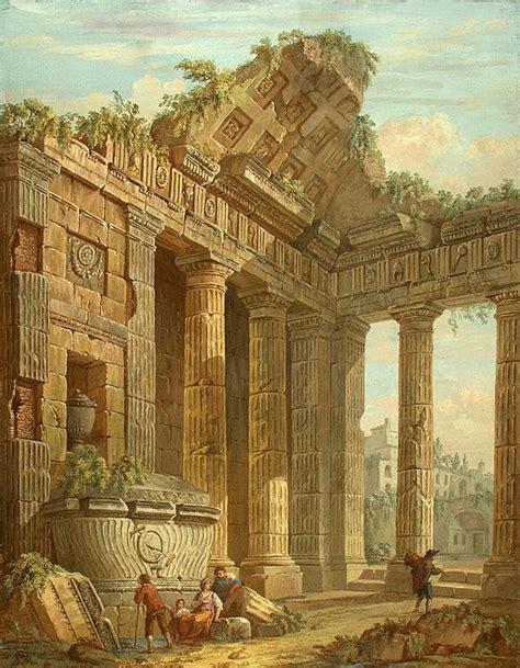 architectural fantasy charles louis clerisseau