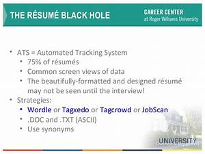 Resume writing trends for Automated tracking system resume
