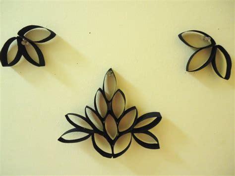 handmade black blooming lotus wall decor  images