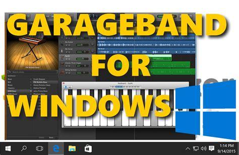 Garageband For Pc Download Without Bluestacks (windows 10