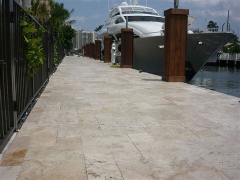 pattern ivory travertine patio tiles and pavers