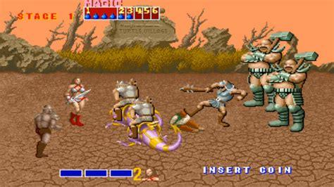 Golden Axe Arcade 1989 Gameplay From The Beginning