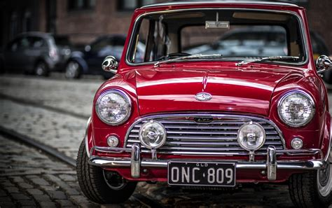 Old Mini Cooper S Stock Photos