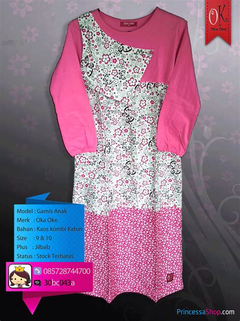 model baju muslim anak perempuan remaja baju gamis anak