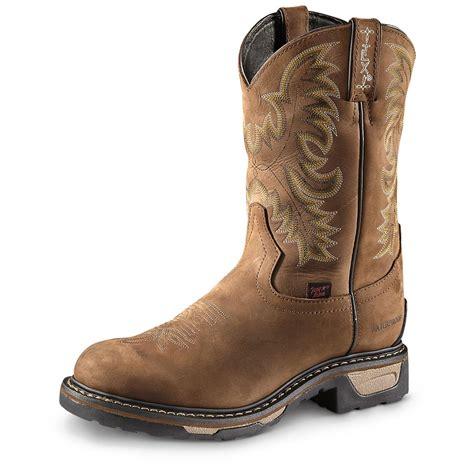 Tony Lama Men's Waterproof TLX Cowboy Work Boots - 655419 ...