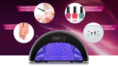 Amazon.com: NailStar Professional LED Nail Dryer Nail Lamp