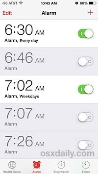 set an alarm on my phone remove alarm clock clutter on the iphone with siri